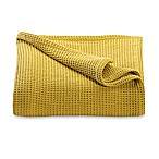 Kenneth Cole Reaction Home Waffle Twin Blanket in Mustard