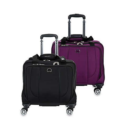 delsey helium cruise carry on wheeled tote bag bed bath