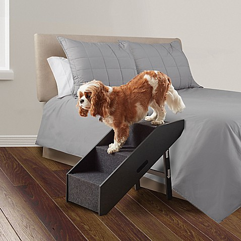 how to make a dog ramp for bed