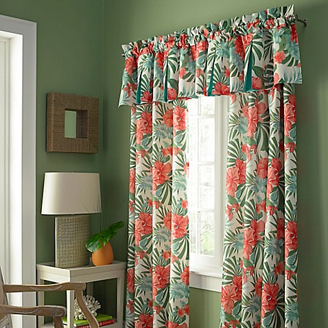 Buy pompano grommet 84 inch window curtain panel from bed bath