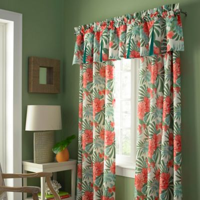 Pompano Grommet 95 Inch Window Curtain Panel