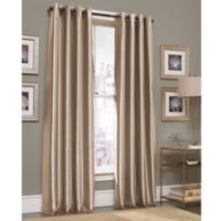 Gardnera 63-Inch Grommet Top Window Curtain Panel in Mink