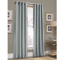 Gardnera 108-Inch Grommet Top Window Curtain Panel in Spa