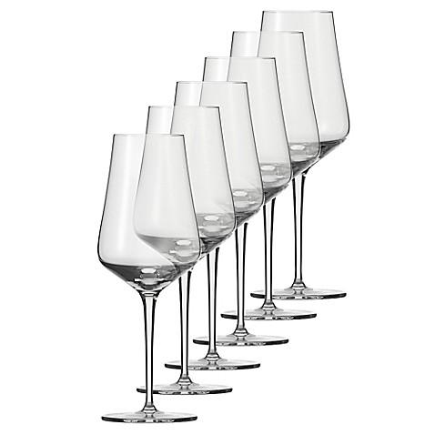schott zwiesel tritan fine light white wine glasses set of 6 bed bath beyond. Black Bedroom Furniture Sets. Home Design Ideas