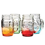 Yorkshire Glass Mason Jar Mugs (Set of 4)