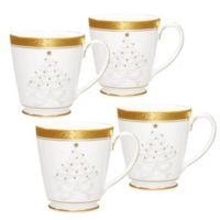 Noritake® Crestwood Gold Holiday Accent Mug (Set of 4)