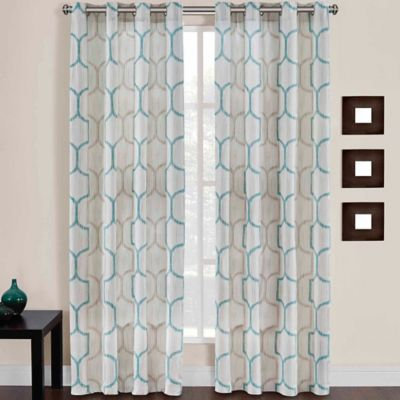 Brand new Buy Teal Curtain Panels from Bed Bath & Beyond KP79