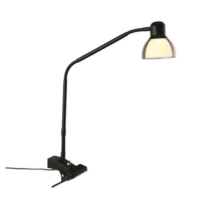 Studio 3b Functional Led Clip Lamp In Matte Black