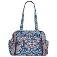 Vera Bradley Marrakesh Make A Change Baby Bag In Blue Orange