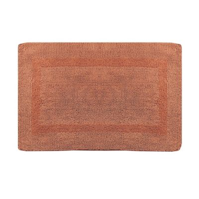 Buy Wamsutta 174 Reversible Contour Bath Rug In Salmon From