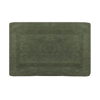 Wamsutta Reversible 21 Inch X 34 Bath Rug In Sage
