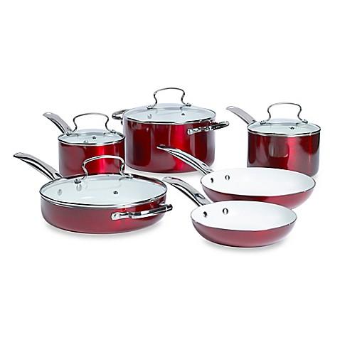 Buy Denmark 174 10 Piece Ceramic Nonstick Aluminum Cookware
