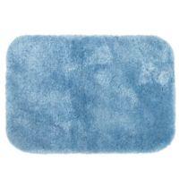 Wamsutta® Hygro® Duet 24-Inch x 40-Inch Bath Rug in Glacier
