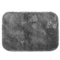 Wamsutta® Duet 20-Inch x 34-Inch Bath Rug in Pewter