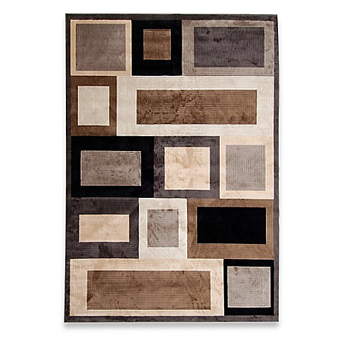 Verona Ice Area Rug In Grey Brown Bed Bath Amp Beyond