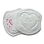 Bamboobies® EcoPure™ 60-Count Disposable Nursing Pads in White