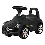 Licensed Mercedes SLS AMG Push Car in Black
