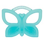 Honest Butterfly Teether in Teal
