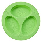 oogaa® 4 oz. Silicone Divided Plate in Green