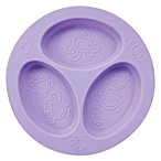 oogaa® 4 oz. Silicone Divided Plate in Purple