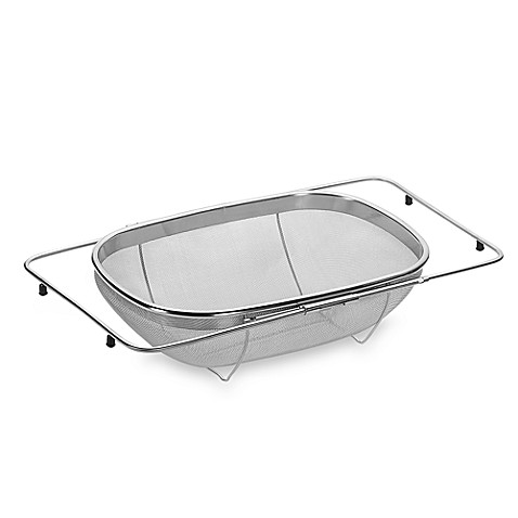 SALT™ Expandable Over The Sink Stainless Steel Strainer