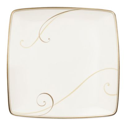 Noritake® Golden Wave Large Square Accent Plate  sc 1 st  Bed Bath u0026 Beyond & Buy Large Square Plates from Bed Bath u0026 Beyond