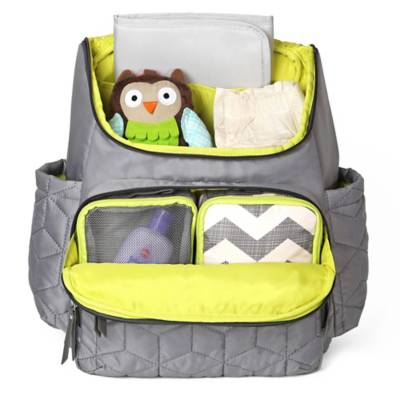 skip hop forma backpack diaper bag in grey buybuybaby. Black Bedroom Furniture Sets. Home Design Ideas