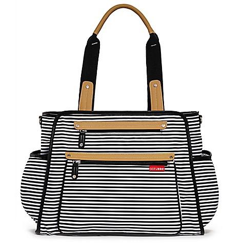 Stripe Diaper Bag