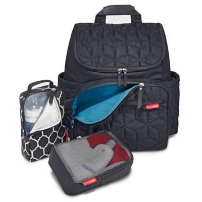 skip hop forma backpack diaper bag in black bed bath beyond. Black Bedroom Furniture Sets. Home Design Ideas