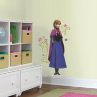 Disney® Frozen's Anna with Cape Giant Peel-and-Stick Multicolor Wall Decal