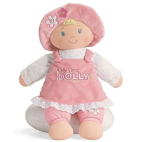 Gund 174 My First Dolly Plush Toy Buybuy Baby