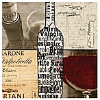 Thirstystone® Wine Collage Coaster