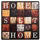 "Thirstystone® Square Occasions ""Home Sweet Home"" Coaster"