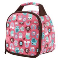 Fit & Fresh® Kids Gabby Owl Print Insulated Lunch Bag in Pink