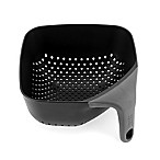 Joseph Joseph® Small Square Colander in Black