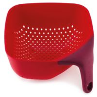 Joseph Joseph® Medium Square Colander in Red