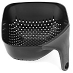 Joseph Joseph® Medium Square Colander in Black