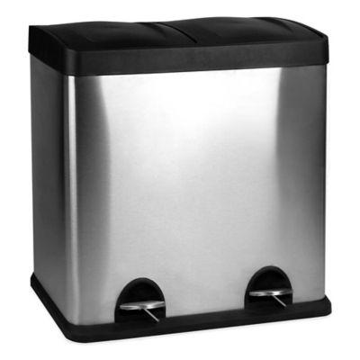 60-Liter Dual Recycle Bin