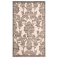 Nourison Graphic Illusions GIL03 2-Foot 3-Inch x 3-Foot 9-Inch Area Rug in Ivory