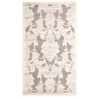Nourison Graphic Illusions GIL03 2-Foot 3-Inch x 3-Foot 9-Inch Area Rug in Nickel