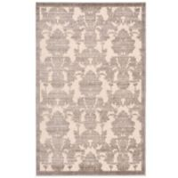 Nourison Graphic Illusions GIL03 3-Foot 6-Inch x 5-Foot 6-Inch Area Rug in Ivory