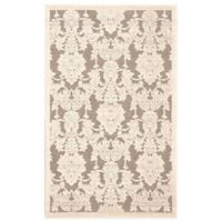 Nourison Graphic Illusions GIL03 3-Foot 6-Inch x 5-Foot 6-Inch Area Rug in Nickel