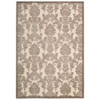 Nourison Graphic Illusions GIL03 5-Foot 3-Inch x 7-Foot 5-Inch Area Rug in Ivory