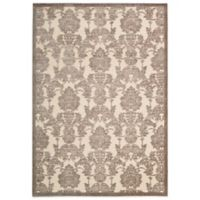 Nourison Graphic Illusions GIL03 7-Foot 9-Inch x 10-Foot 10-Inch Area Rug in Ivory