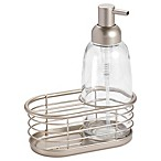 InterDesign® Forma Dish Soap Pump Caddy in Satin