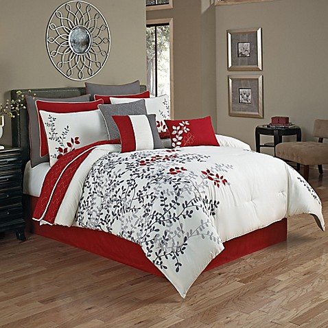 Portola 12 piece comforter set bed bath beyond - Bed bath and beyond bedroom furniture ...
