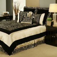 Sherry Kline Zumalay King Comforter Set in Tan/Gold