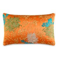 J by J. Queen New York Caroline Boudoir Throw Pillow in Tangerine