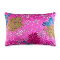 J by J. Queen New York Caroline Boudoir Throw Pillow in Pink