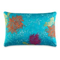 J by J. Queen New York Caroline Boudoir Throw Pillow in Turquoise